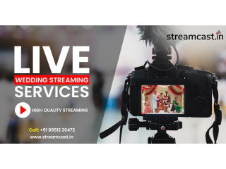 Live Streaming video services in Bangalore  Streamcast